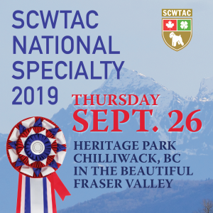 2019 SCWTAC National Conformation Specialty